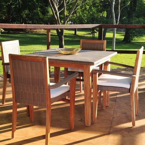 Muebles de exterior fiberland - Muebles exterior madera ...